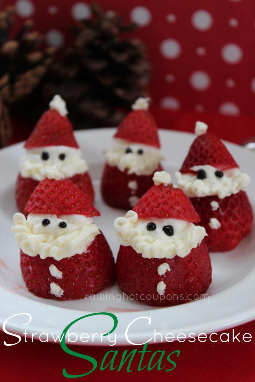 Strawberry Cheesecake Santas Recipe Food Amp Drinks