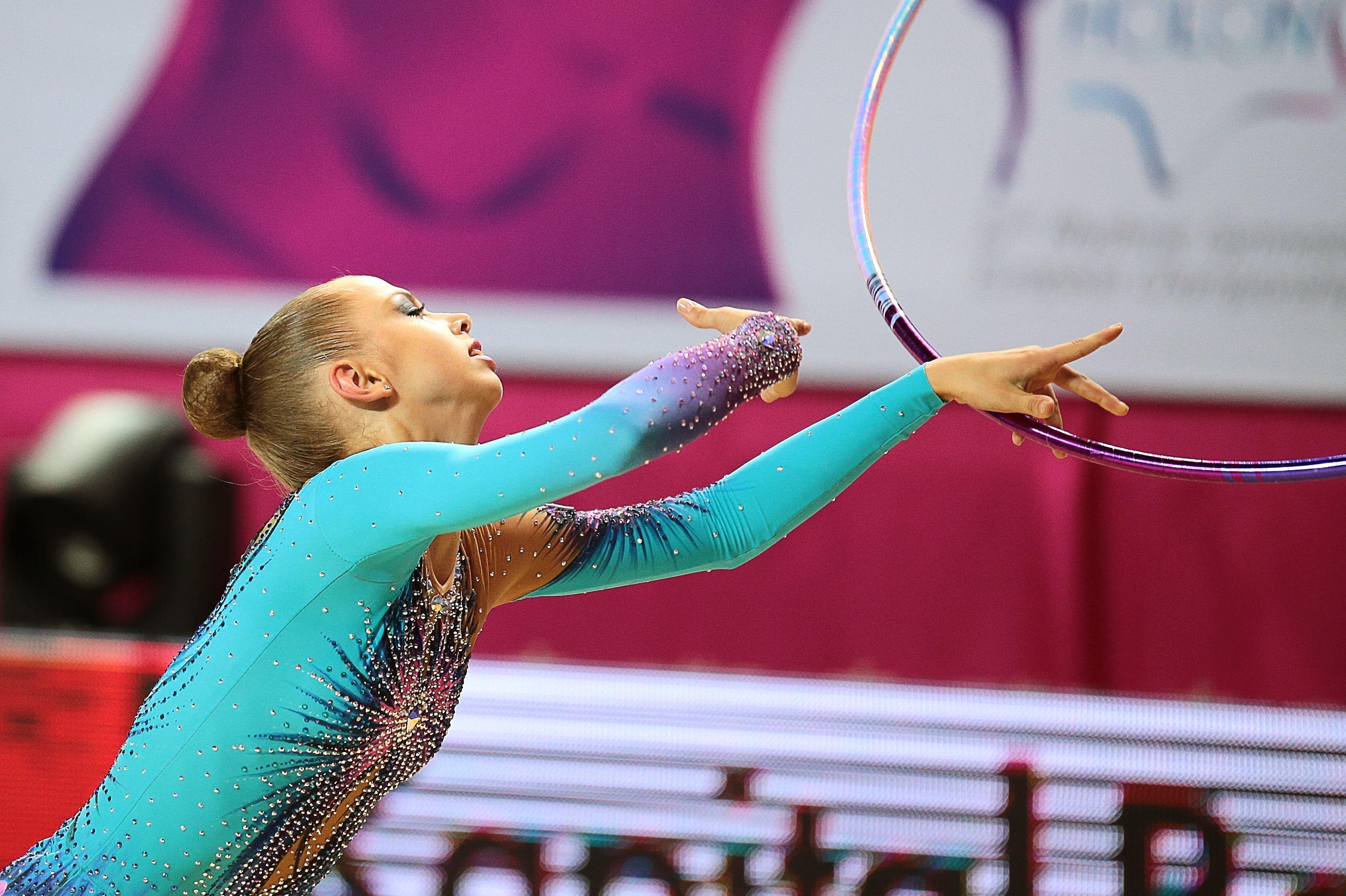 Utyasheva nackt Lyasan  Russian gymnast