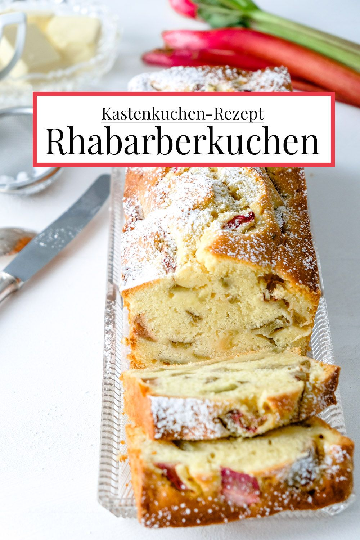Rhabarber-Kastenkuchen mit Joghurt - sonst ohne Schnickeldi {Rezept}