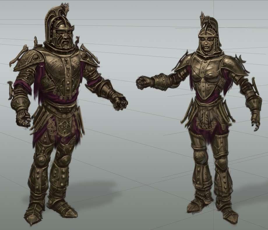 Dwemer Armor Rough Sketch Elder Scrolls V Skyrim Elder Scrolls Dwemer Armor