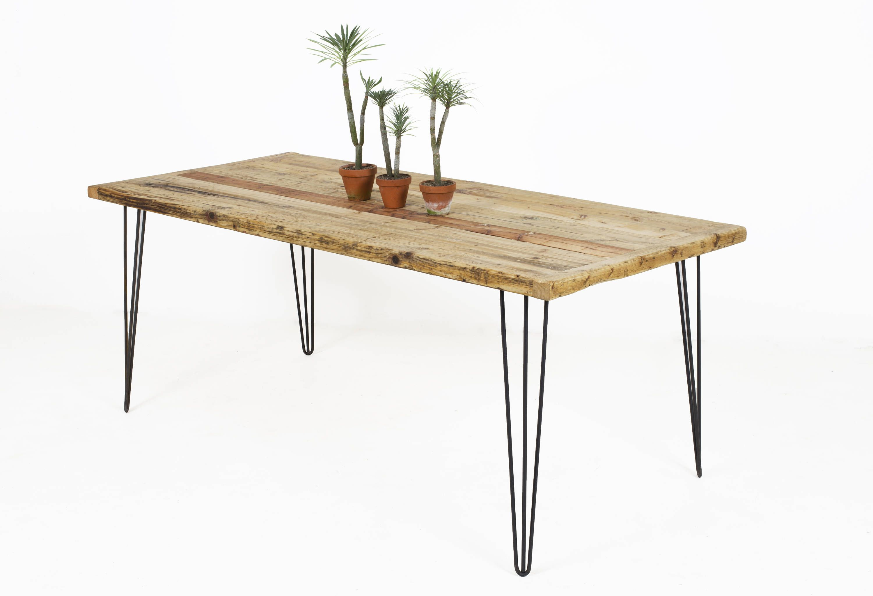 Rustic Dining Table Reclaimed Wood Dining Table The Bau Kent