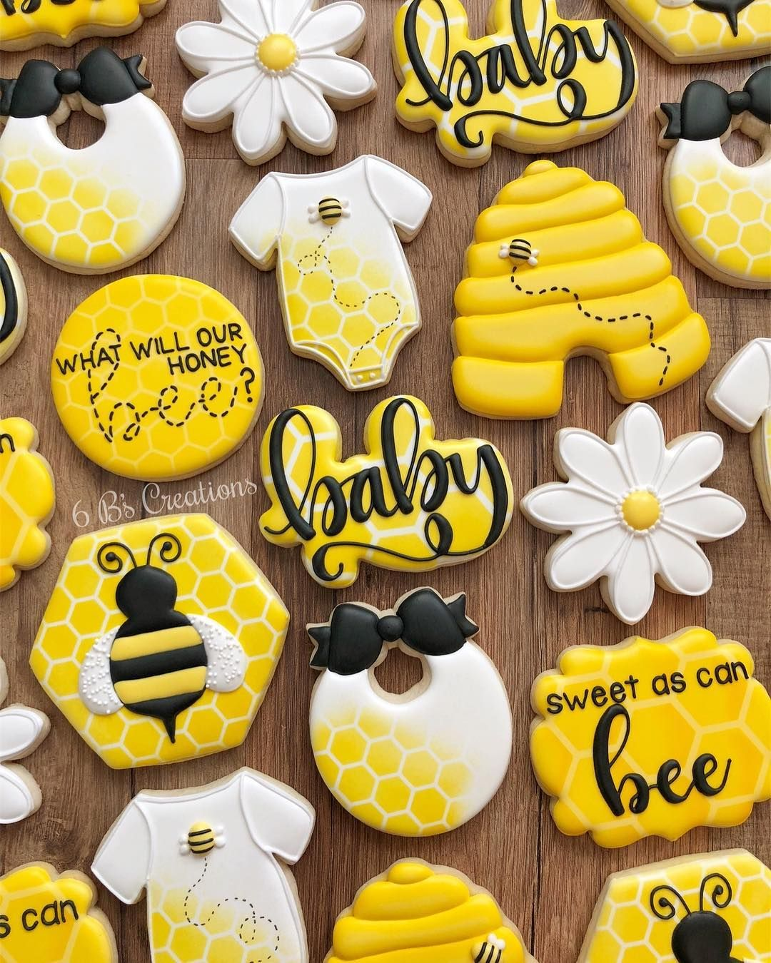 """Brittany Geil On Instagram: """"Bee Cookies For A Gender"""