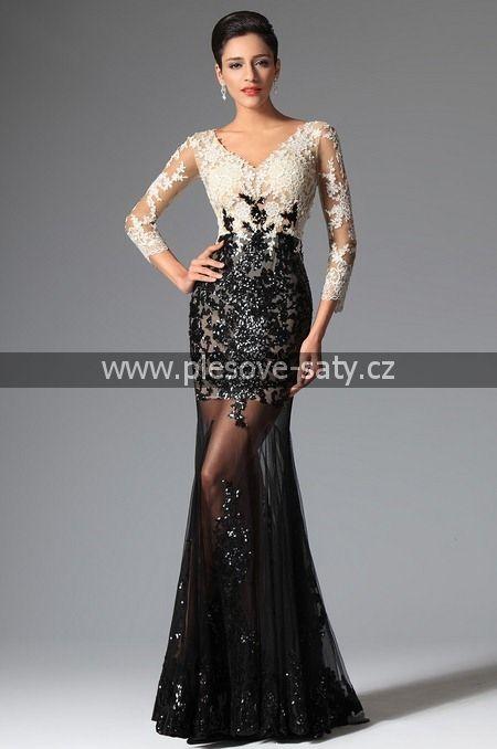 Společenské šaty č. 02149100  35cd36db92d