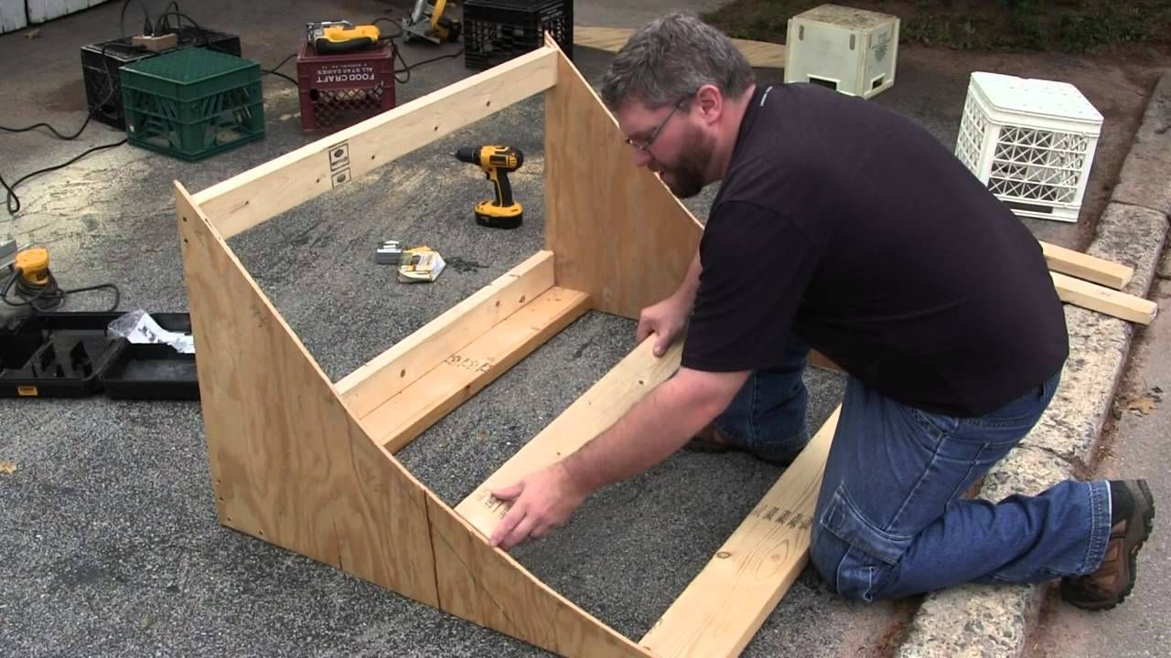 How to Make a RC Jump out of Wood Diy car ramps, Rc cars
