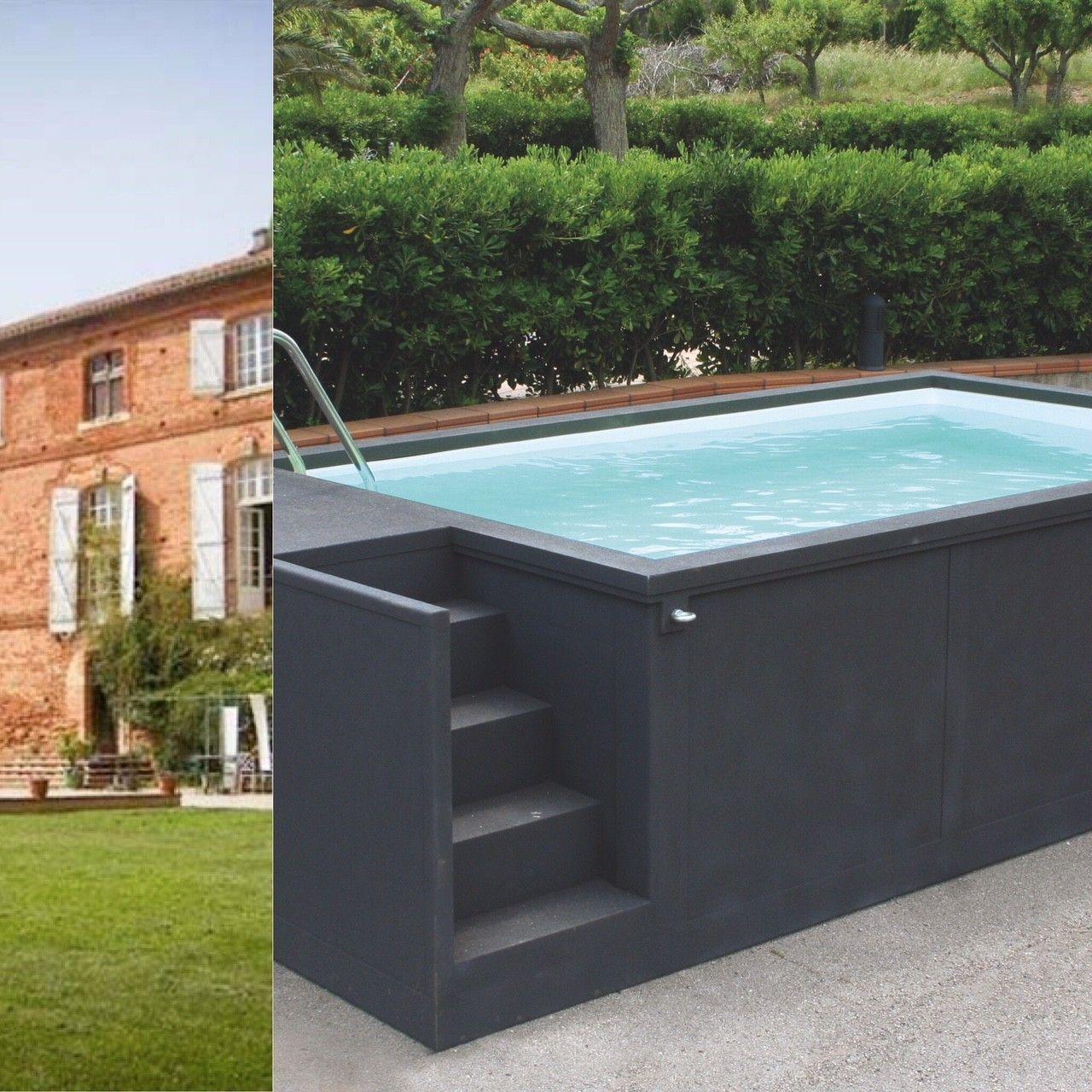 container piscine 5m25x2m55x1m26