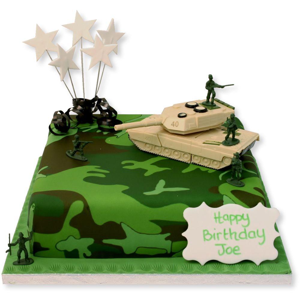 Army Tank Birthday Cake 52 cumple David Pinterest Birthday
