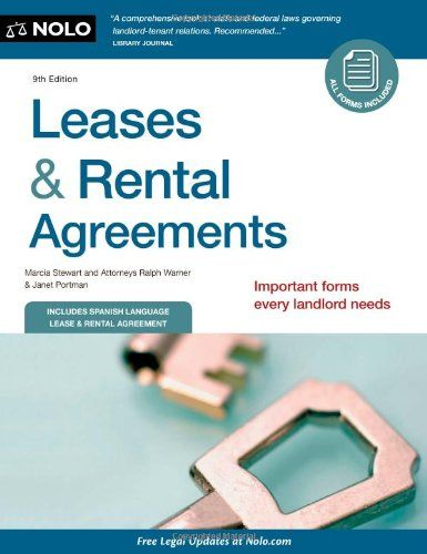 Bestseller Books Online Leases  Rental Agreements Marcia Stewart - lease renewal form