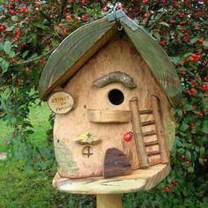 nichoir oiseaux m sanges esprit de famille cabane oiseaux des jardins bird house utile. Black Bedroom Furniture Sets. Home Design Ideas