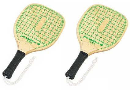 Pickleball swinger wood paddle picture 314