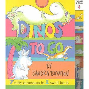 Dinos to Go: Dinos to Go (Board Book) - Walmart.com