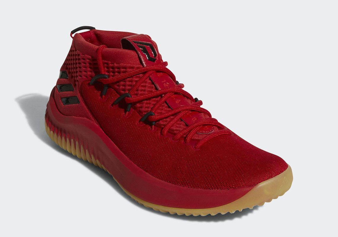 L'adidas dame 4 in rosso e la gomma viene presto adidas pinterest