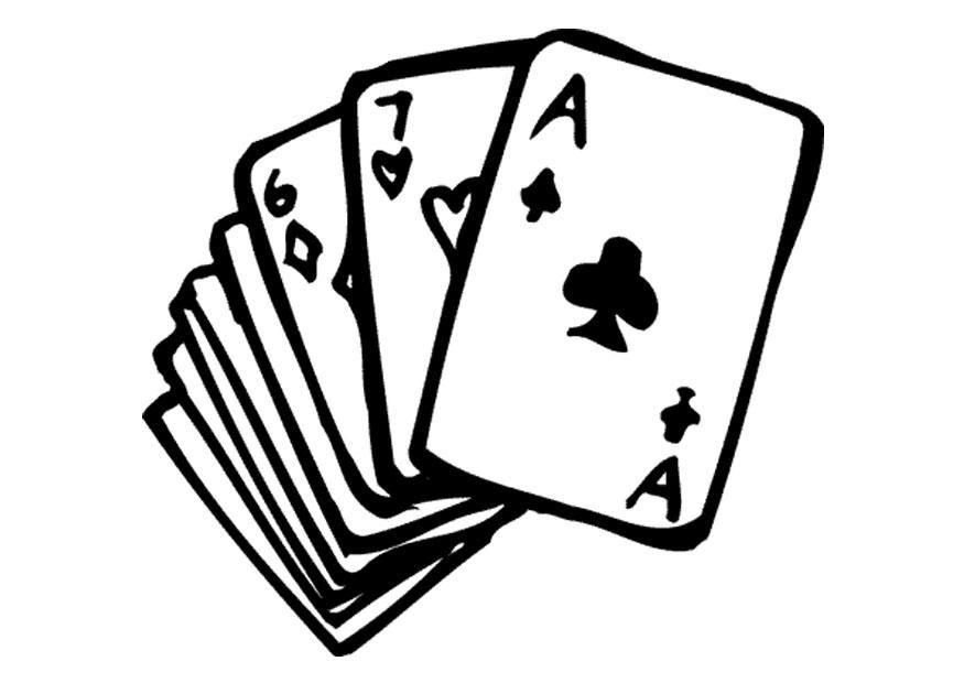 Bildergebnis Fur Karten Spielen Clipart