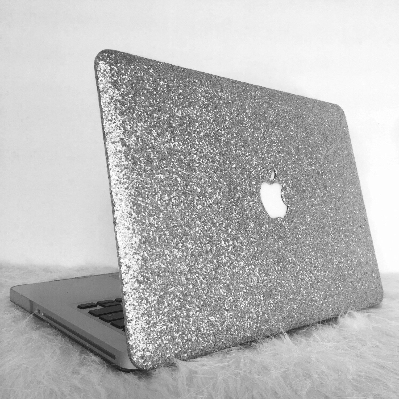 quality design 13378 058aa Glitter Macbook Case-Silver | Laptop | Macbook case, Macbook ...