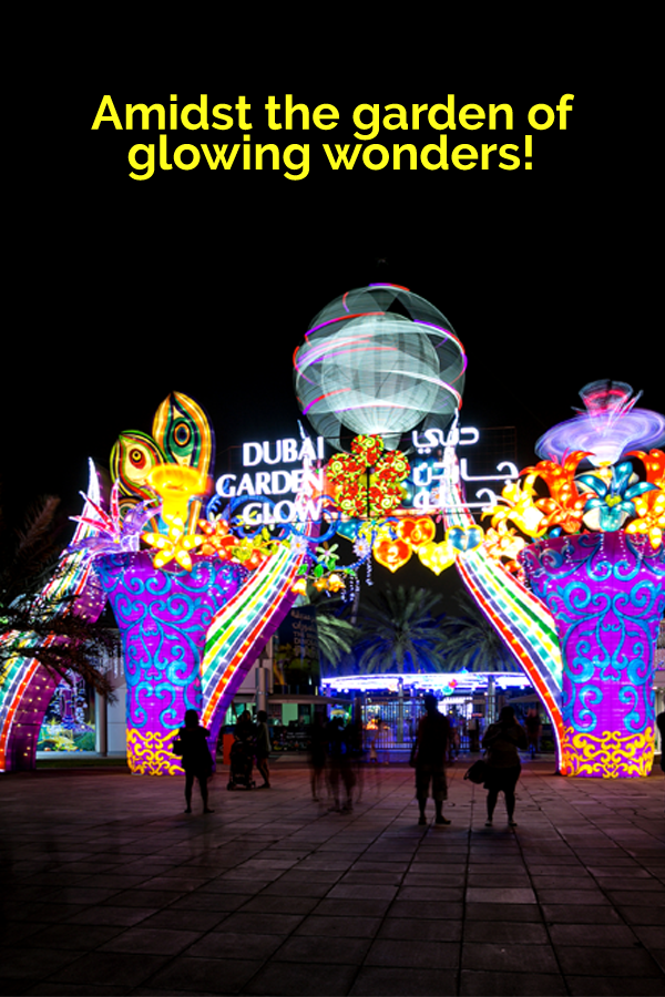 Dubai Garden Glow Amusement & Theme Park Visit dubai