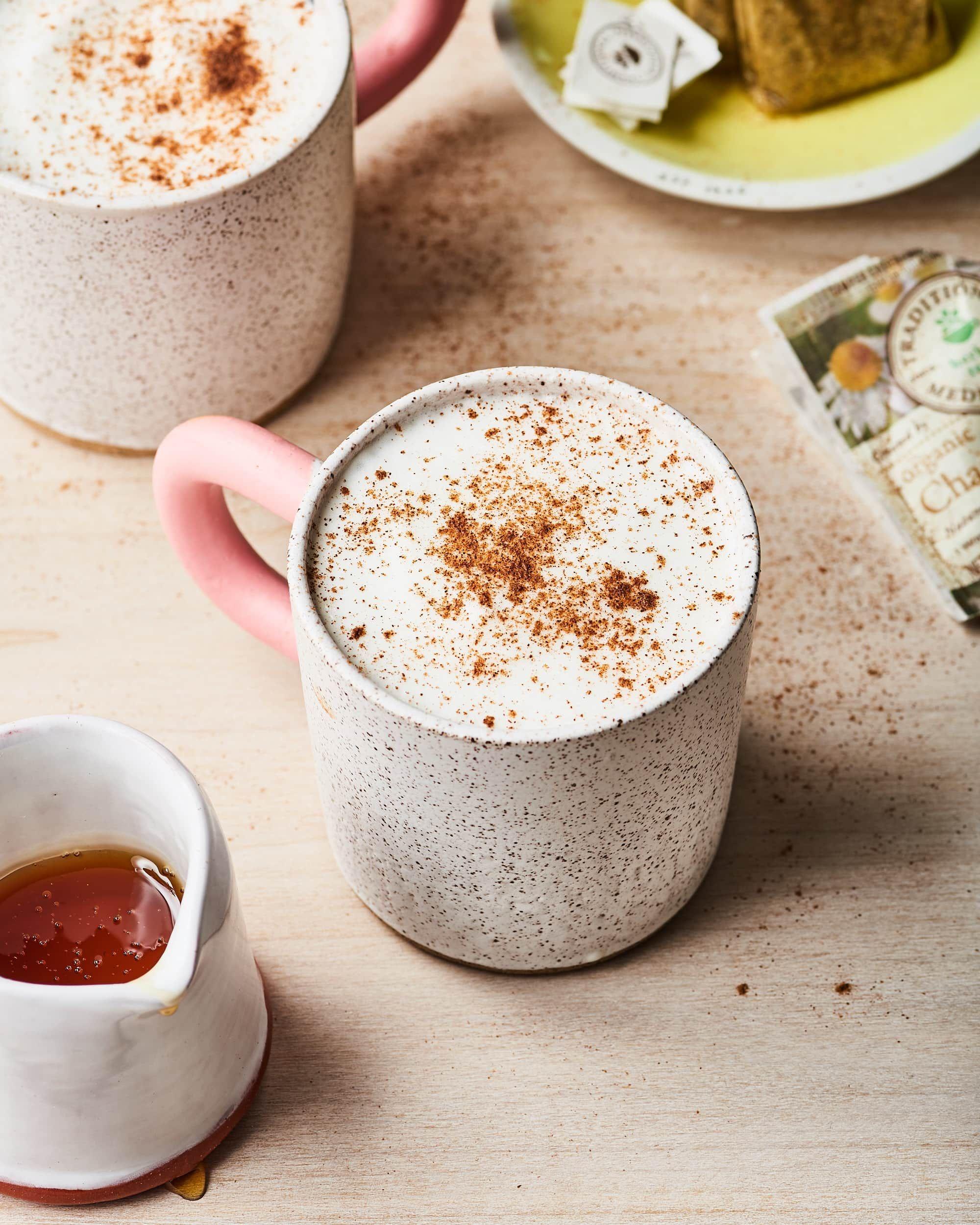 Honey Chamomile Tea Latte