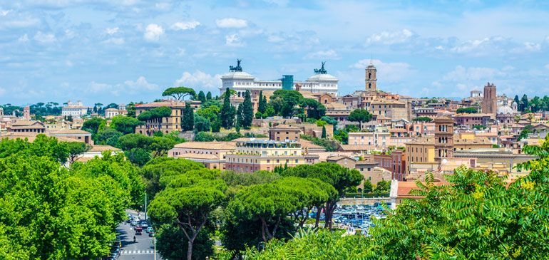Giardino degli Aranci (Orange Garden) view, Rome | Italy, Rome ...