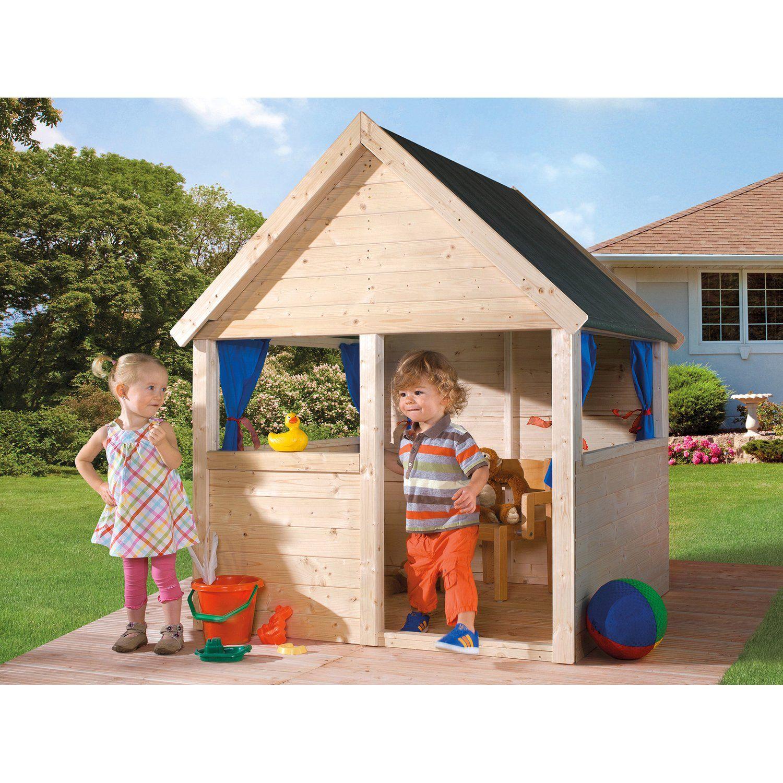 Weka Kinderspielhaus Matteo Natur Kaufen Bei Obi Kinderspielhaus Spielhaus Kinder Spielhaus