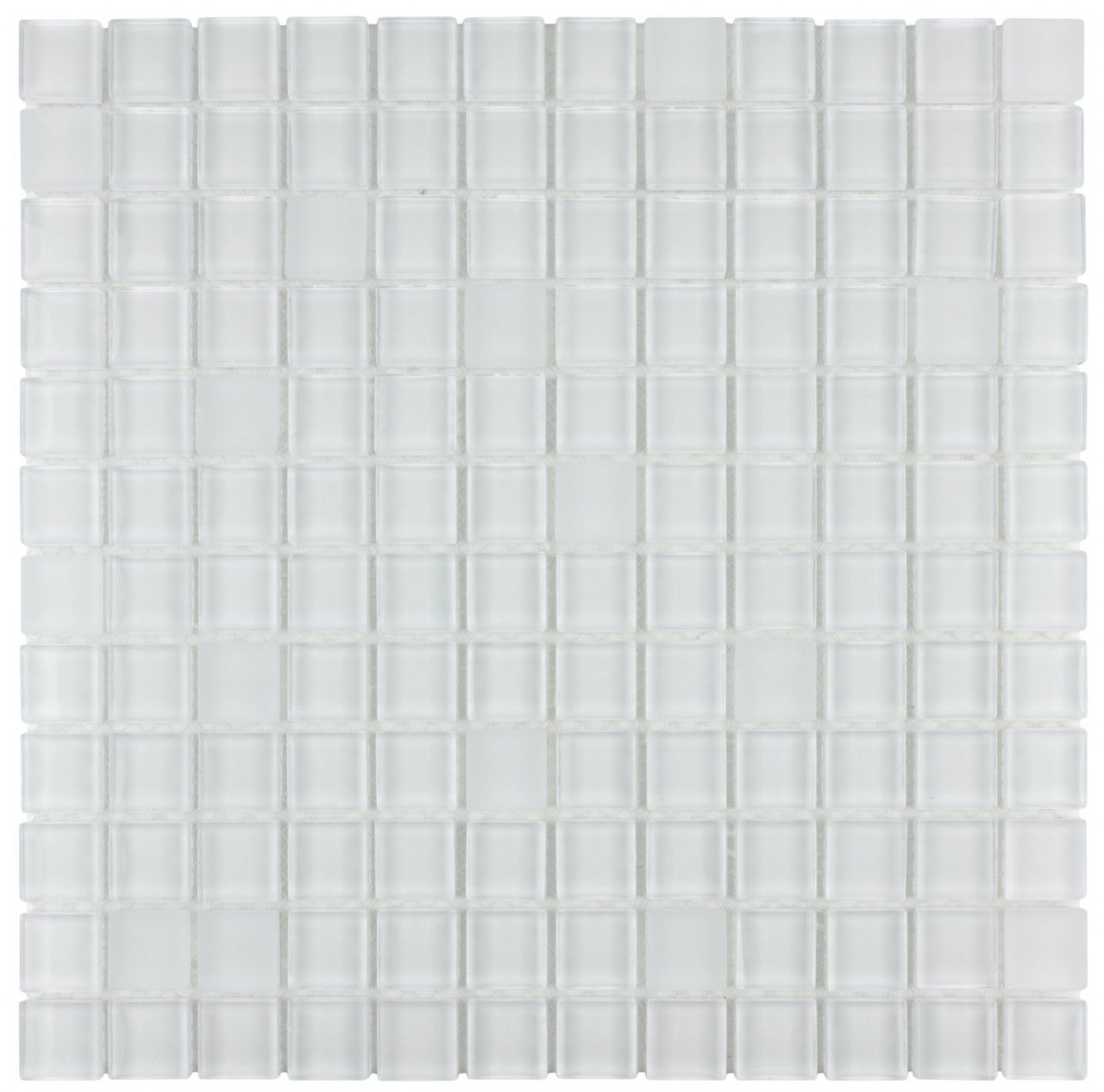 Mineral Tiles Glass Mosaic Tile White Blend 1x1 14 92 Http Www Mineraltiles Com Glass Mosaic Tile White Blend Mosaic Glass Glass Mosaic Tiles Glass Tile
