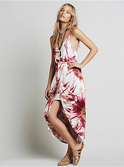 Free People Summer Lady Printed Dress, $168.00