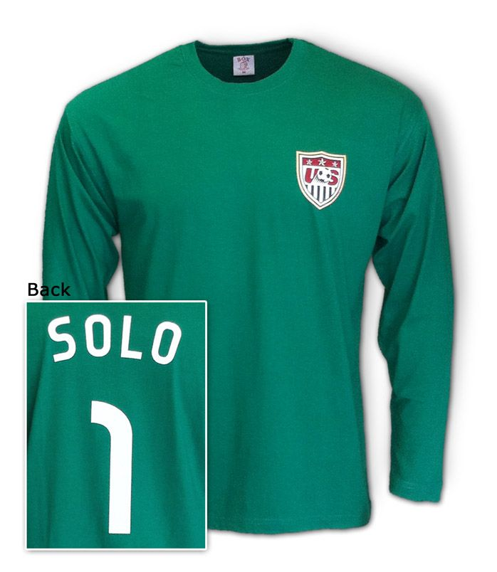 55c9b00d8d7 Hope Solo Jersey Shirt USA women soccer Goalkeeper