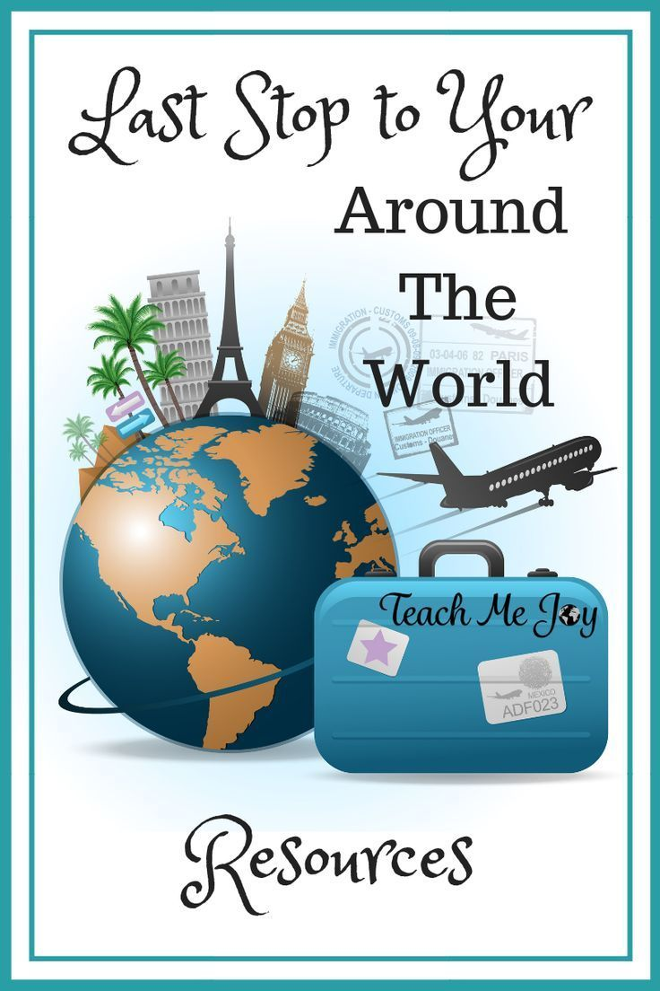 The Last Stop for Around the World Resources! Homeschool