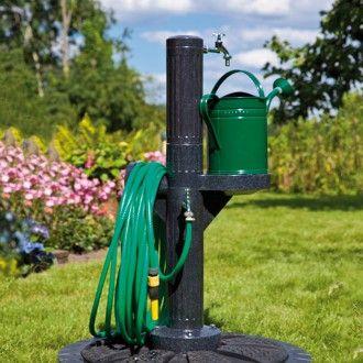 Rewatec Wasserzapfsaule Premium Wasserzapfstelle Wasserzapfsaule Garten Wasserzapfsaule Wasserhahn Garten