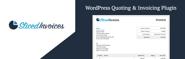 Creating A Invoice Sliced Invoices WordPress Invoice Plugin  A WordPress Invoicing .