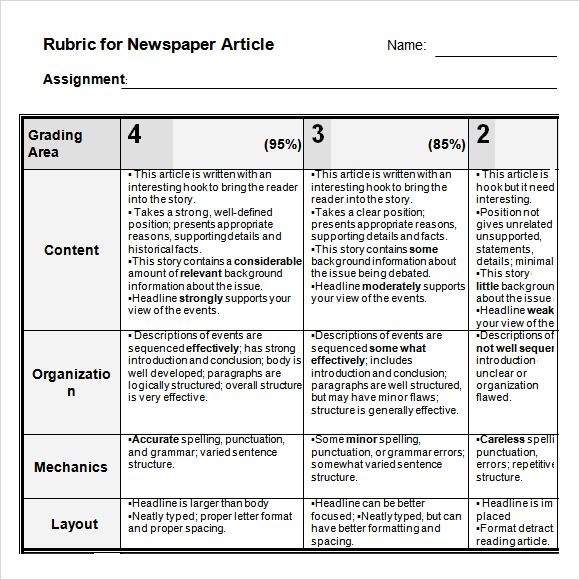 Newspaper Article Template For Microsoft Word Aspiring Journalists