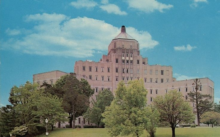 All began here on March 16, 1949. City Hospital, corner of