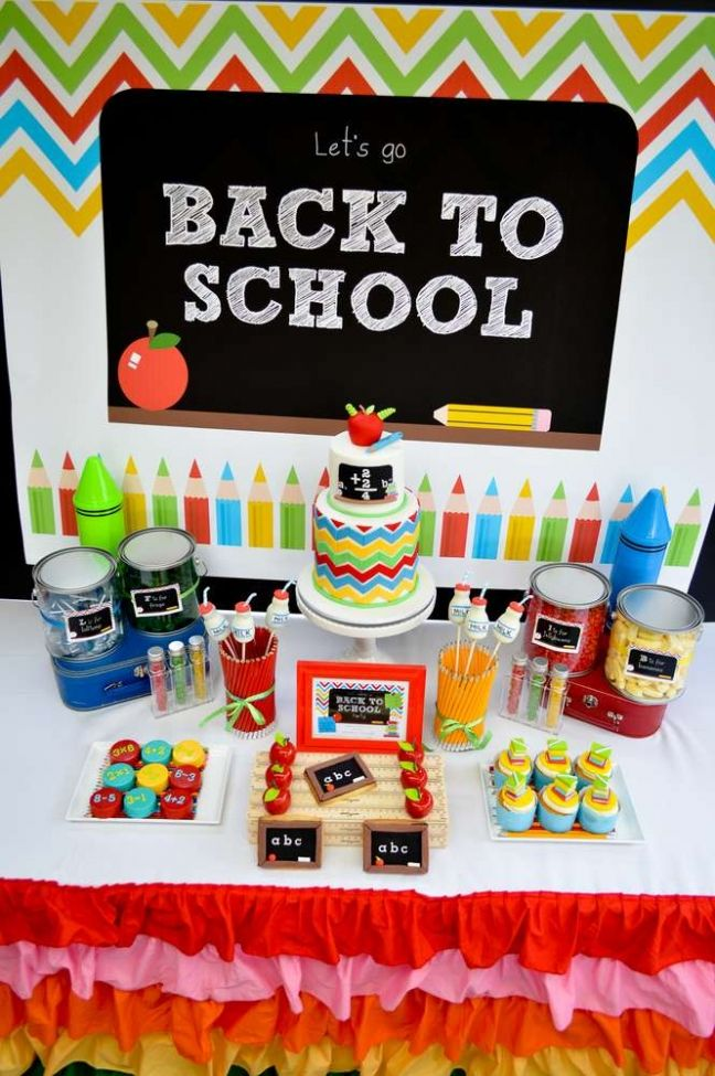 back to school birthday