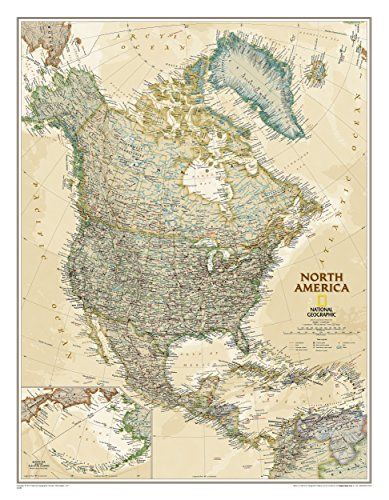 North america executive tubed national geographic reference map north america classic tubed national geographic reference map national geographic maps reference 0749717200142 amazon books gumiabroncs Image collections