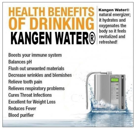The Kangen Alkaline Ionized Water Lady Feel And Taste The Difference Ask About Your Free Trial Promo Water Health Benefits Kangen Water Benefits Kangen Water