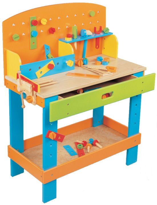 Colorful Workbench Deti