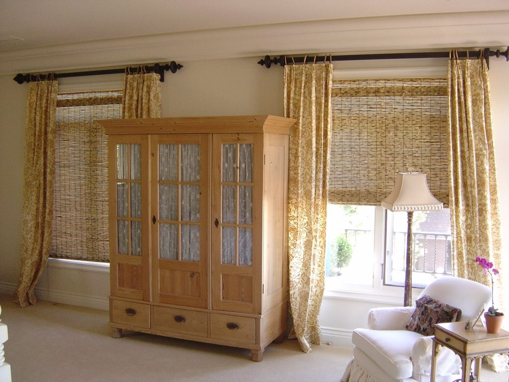 Privacy Bamboo Shades In Bedroom | Bedroom | Pinterest | Bedrooms ... for Bamboo Curtains In Bedroom  146hul