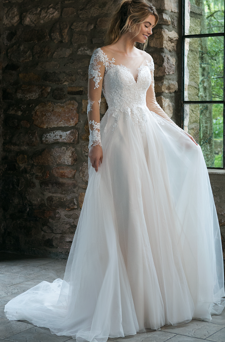 Sydney Tulle Wedding Gown Wedding Dresses Sincerity Bridal Wedding Dresses