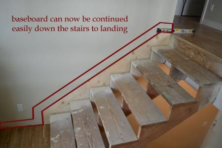 Owner Building A Home The Momplex Stair Skirts Stairs Skirting Diy Stairs Stairs Trim