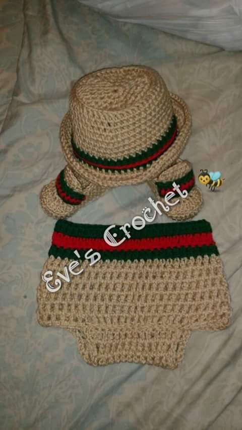 cd4af22a7e7 Baby boy Gucci crochet by Evescrochet8 on Etsy