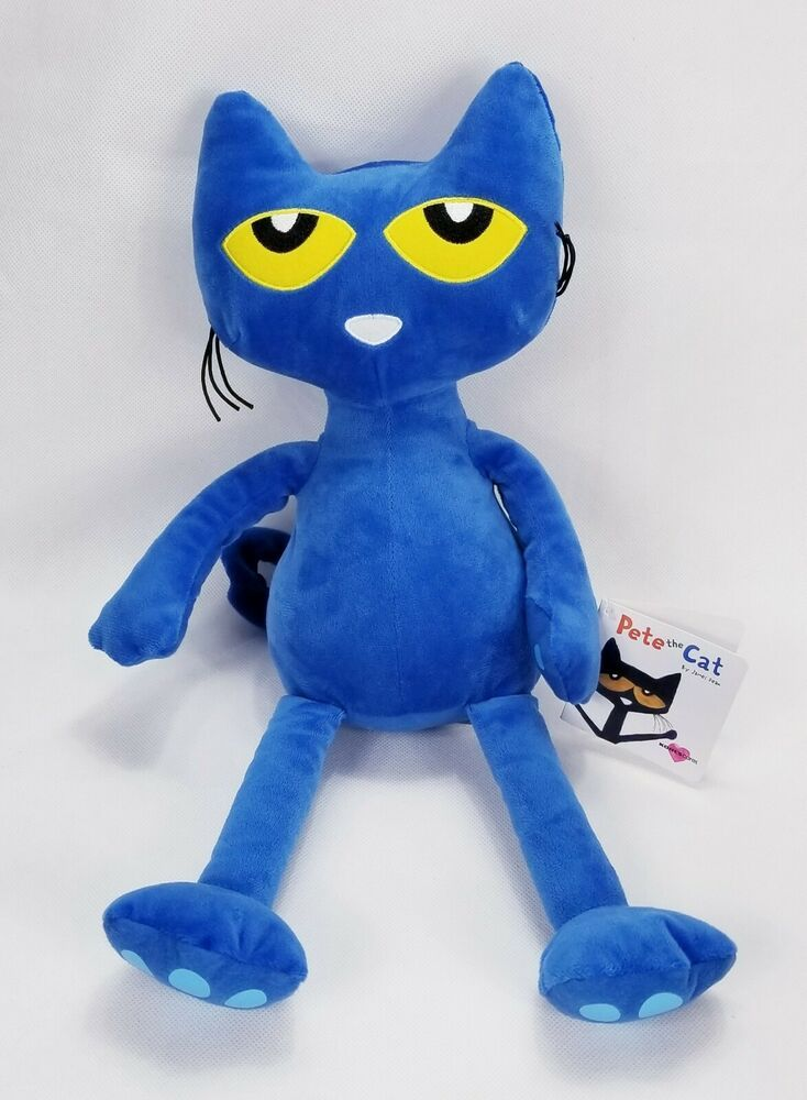 New kohls cares pete the cat plush james dean with tag