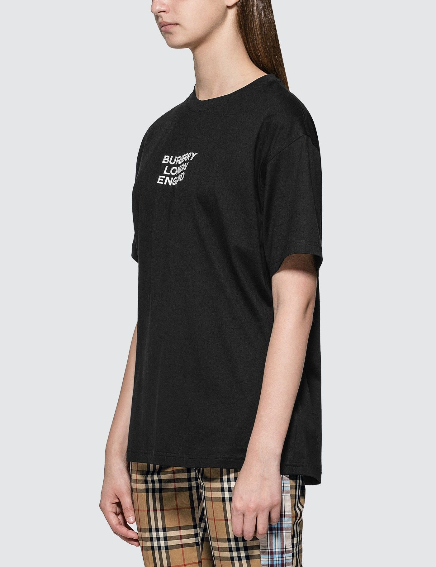 Burberry Logo Tshirt HBX in 2020 Shopping outfit