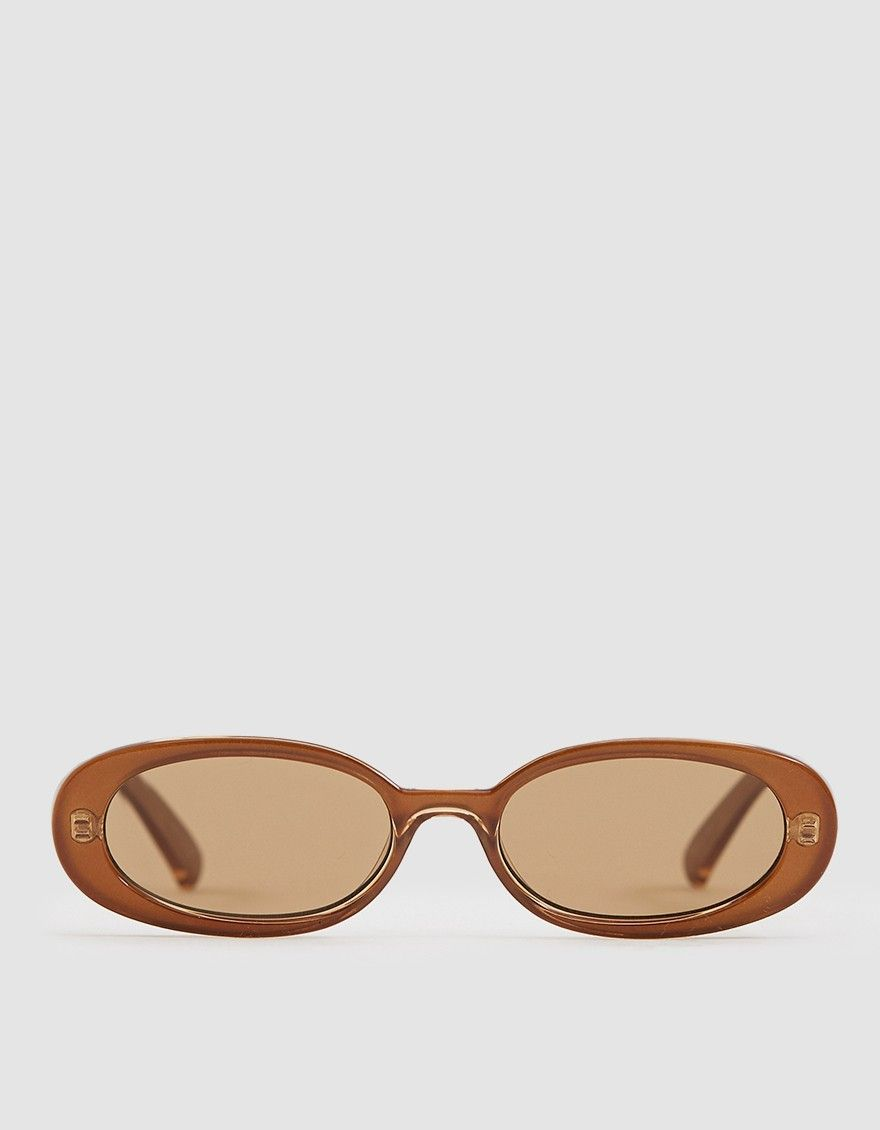 0b76a86f06d14 Le Specs Outta Love sunglasses in Caramel