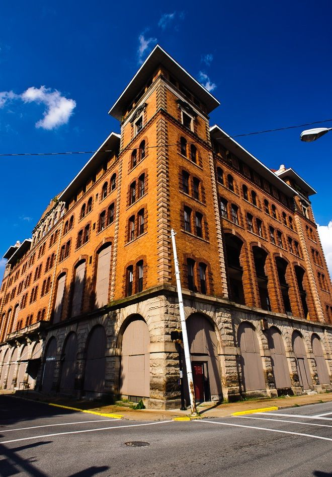 The Abandoned Waldo Hotel Clarksburg Wv Located In Heart Of Was Once Among Crown Jewels State
