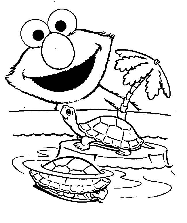 Free Printable Elmo Coloring Pages For Kids In 2020 Turtle Coloring Pages Sesame Street Coloring Pages Elmo Coloring Pages