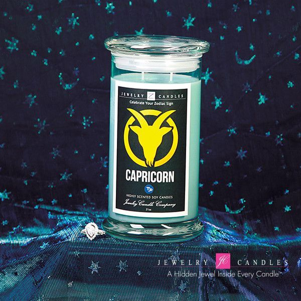 capricorn zodiac sign jewelry candle december 22 january 19 products pinterest. Black Bedroom Furniture Sets. Home Design Ideas
