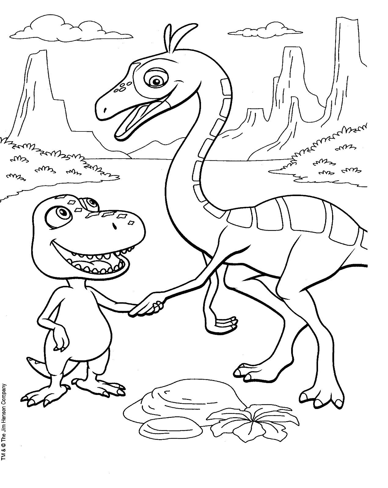 Danny And The Dinosaur Coloring Pages Dinosaur Coloring Pages Dinosaur Coloring Coloring Pages