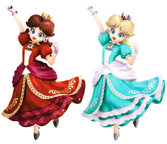 If You Had To Choose One Of These Two Costumes Which One Would You Prefer Pauline Red Or Rosalina Super Princess Peach Princess Daisy Super Mario Princess