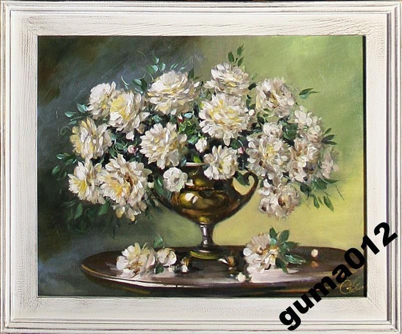 Malarstwo Kwiaty I Laki Recznie Malowane Obrazy Na Sprzedaz Obrazy Olejne Kwiaty Obrazy Na Plotnie Malarstwo Wspolczesne Krukart Painting Art Vintage