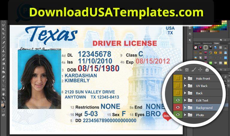 Washington Driver License Psd