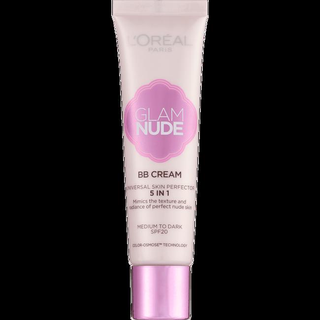 LOreal Paris Glam Nude BB Cream 5 in 1: Amazon.co.uk: Beauty