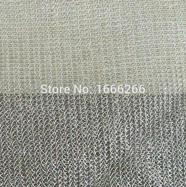 high efficiency Anti electromagnetic radiation silver fiber fabric ...