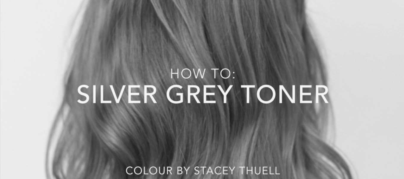 How To Get A Perfect Silver Grey Toner Using Fanola Fanola Hair